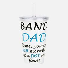 Band Dad Acrylic Double-wall Tumbler