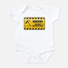 Warning Geologist Infant Bodysuit