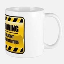 Warning Geologist Mug