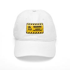 Warning Gardener Baseball Cap