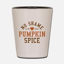Pumpkin Spice No Shame Shot Glass