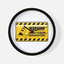 Warning Foundry Operator Wall Clock