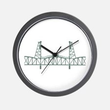Hawthorne Bridge Wall Clock