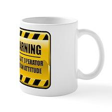 Warning Forklift Operator Mug
