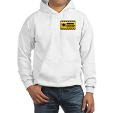 Warning Food Service Person Hoodie