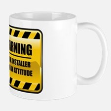 Warning Floor Installer Mug