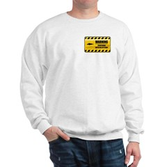 Warning Fisherman Sweatshirt