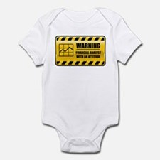 Warning Financial Analyst Infant Bodysuit