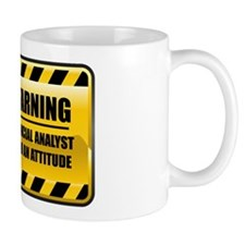 Warning Financial Analyst Mug