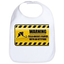 Warning Field Hockey Player Bib