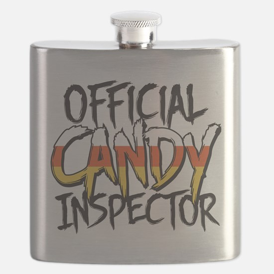 Official Candy Inspector Flask