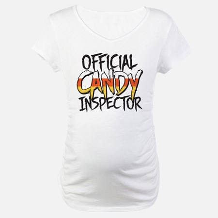 Official Candy Inspector Maternity T-Shirt