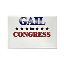 GAIL for congress Rectangle Magnet