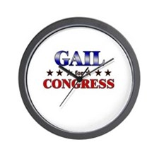 GAIL for congress Wall Clock