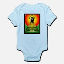 Rasta Baby Conquering Lion Infant Creeper