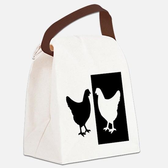 Funny Animal art Canvas Lunch Bag