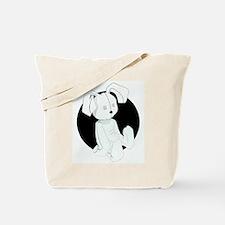 Stuffed Bunny Tote Bag