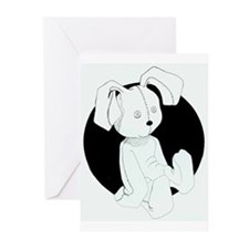 Stuffed Bunny Greeting Cards (Pk of 10)