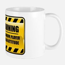 Warning Euphonium Player Small Small Mug