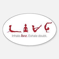 Love Yoga Decal