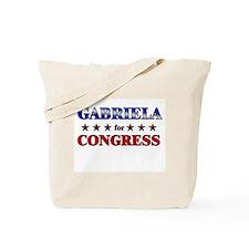 GABRIELA for congress Tote Bag