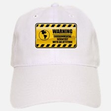 Warning Environmental Scientist Baseball Baseball Cap