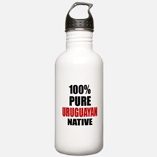 100 % Pure Uruguayan N Water Bottle