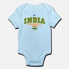 IN India Indian Cricket Infant Bodysuit
