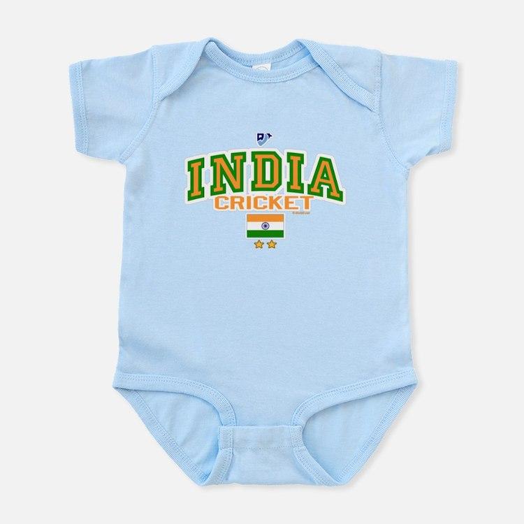 IN India Indian Cricket Infant Bodysuit