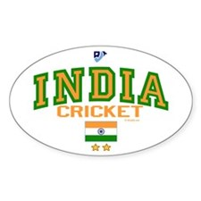 IN India Indian Cricket Decal