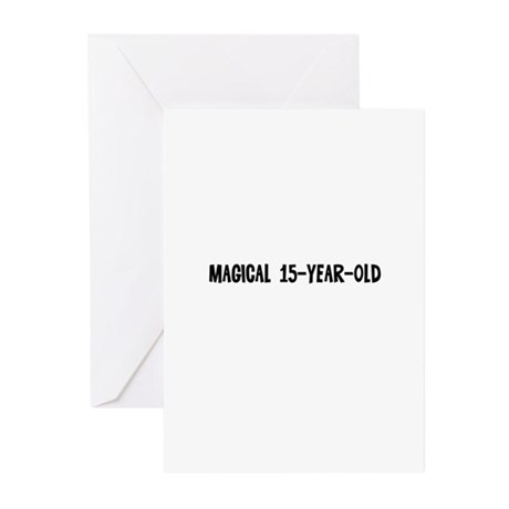 Magical 15-year-old Greeting Cards (Pk of 10)