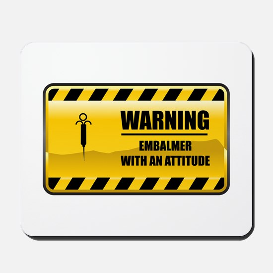 Warning Embalmer Mousepad