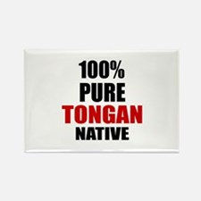 100 % Pure Tongan Native Rectangle Magnet