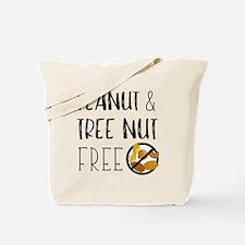 Cute Allergic nuts Tote Bag