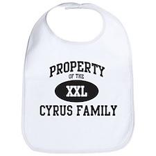 Property of Cyrus Family Bib