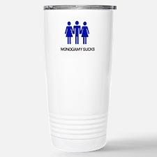 Monogamy Sucks Travel Mug