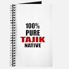 100 % Pure Tajik Native Journal