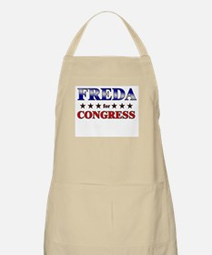FREDA for congress BBQ Apron