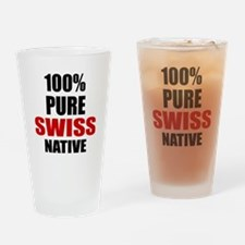 100 % Pure Swiss Native Drinking Glass