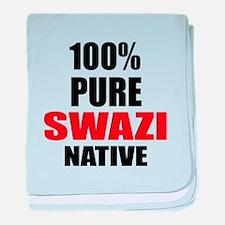 100 % Pure Swazi Native baby blanket