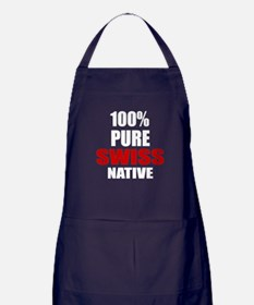 100 % Pure Swiss Native Apron (dark)