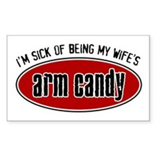 Arm Candy Rectangle Decal