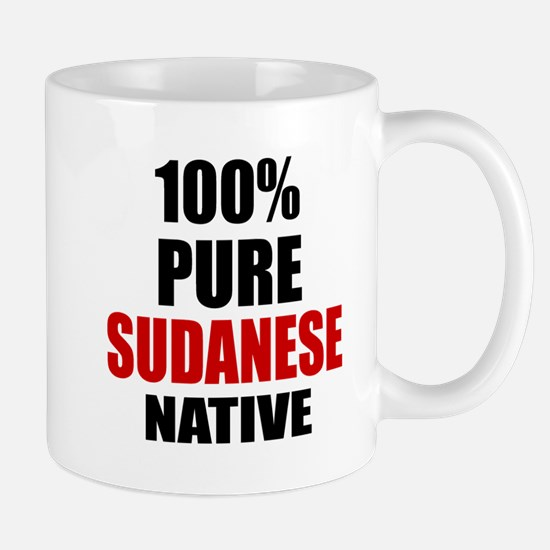 100 % Pure Sudanese Native Mug