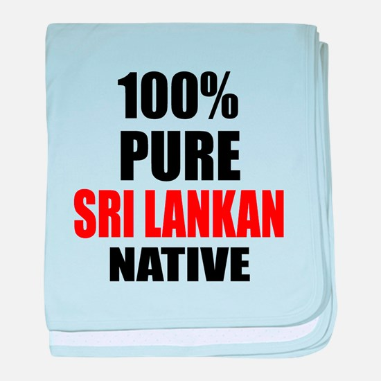 100 % Pure Sri Lankan Native baby blanket