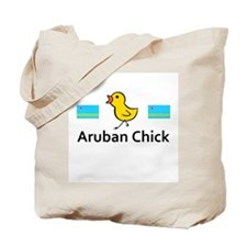 Aruban Chick Tote Bag