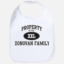 Property of Donovan Family Bib