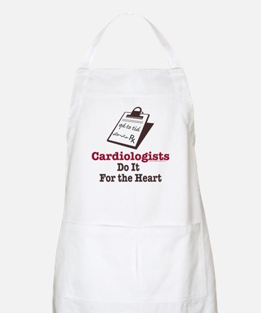 Funny Doctor Cardiologist Cardiology BBQ Apron