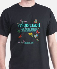 Colorguard Differences T-Shirt