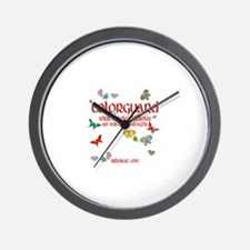 Colorguard Differences Wall Clock