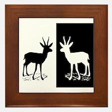 Gazelle Framed Tile